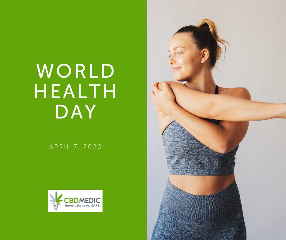 cbdmedic world health day marketing