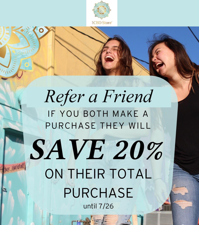 your cbd store advertisement sale example