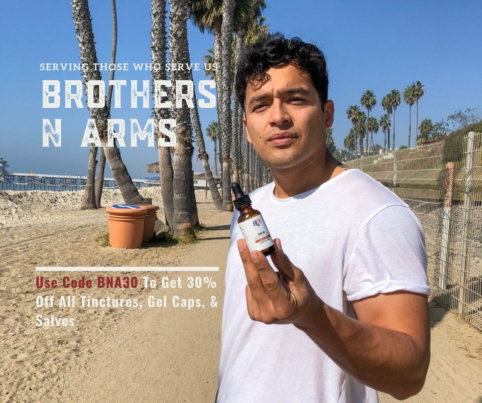 brothers n arms cbd advertisement example
