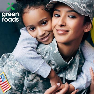 green roads veteran support digital display advertisement