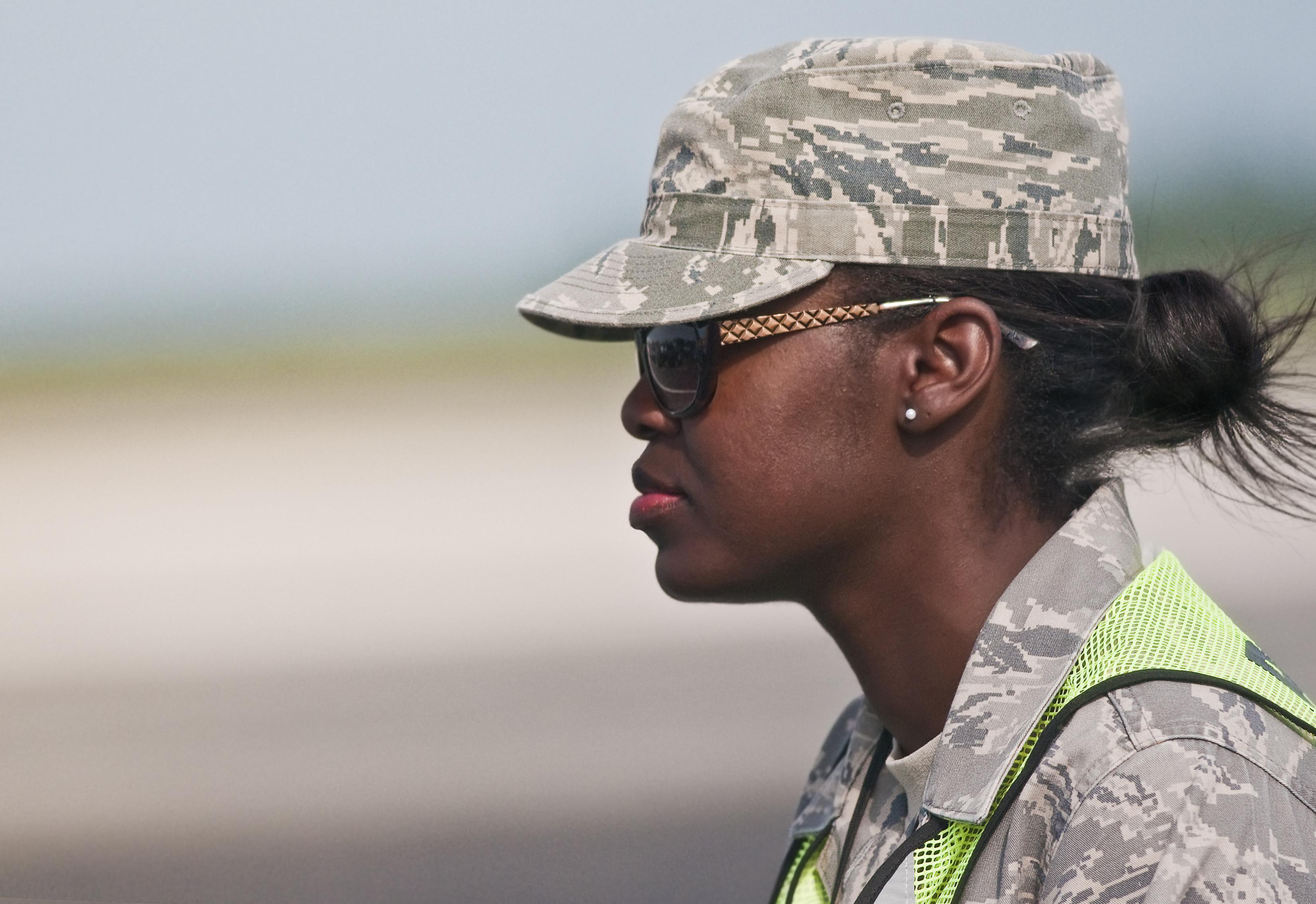 military servicewoman