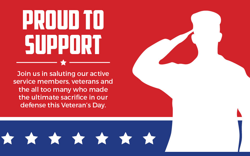 proud to support veterans icon