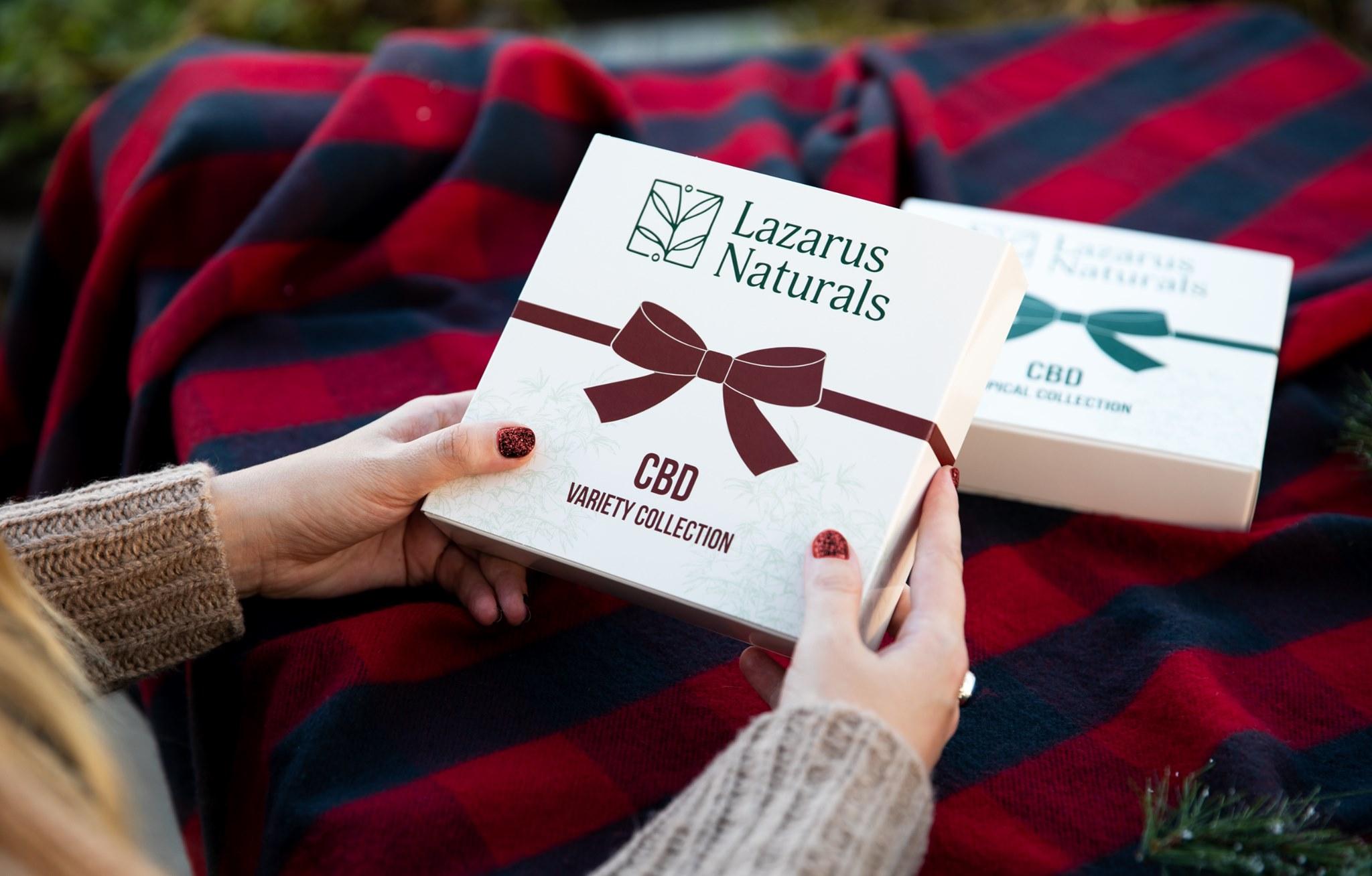 lazarus naturals cbd gift boxes