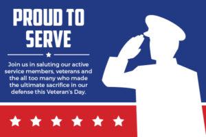 proud to serve free icon