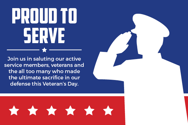 proud to serve icon veterans day